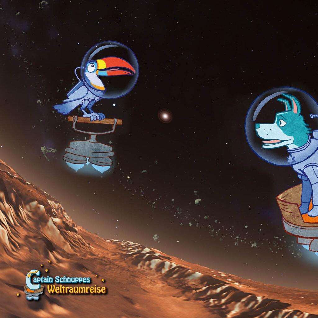 Ο Κάπτεν Σνούπυ και το διαστημικό ταξίδι